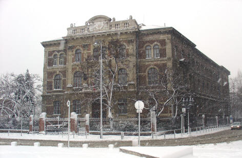 A BME Ch épülete